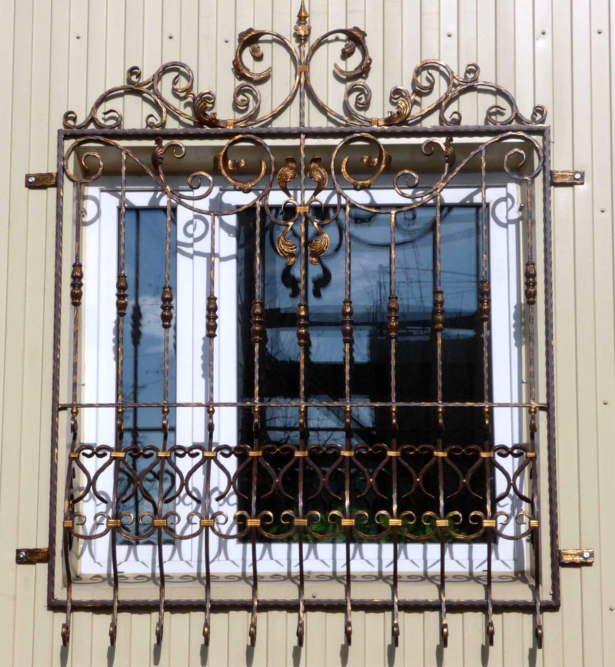 решётка на окна фото